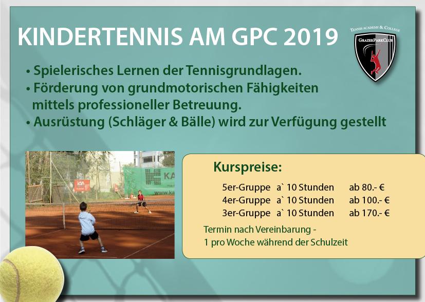 GPC Kindertennis Sommer 2019